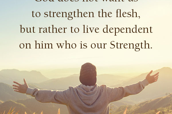 Let the best person live through you for victory!