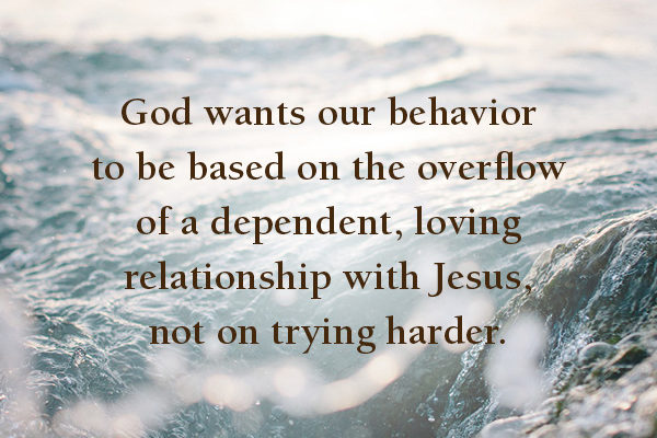 Jesus is in you to love you!